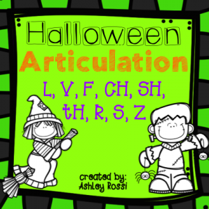 Halloween Articulation Later sounds 8x8