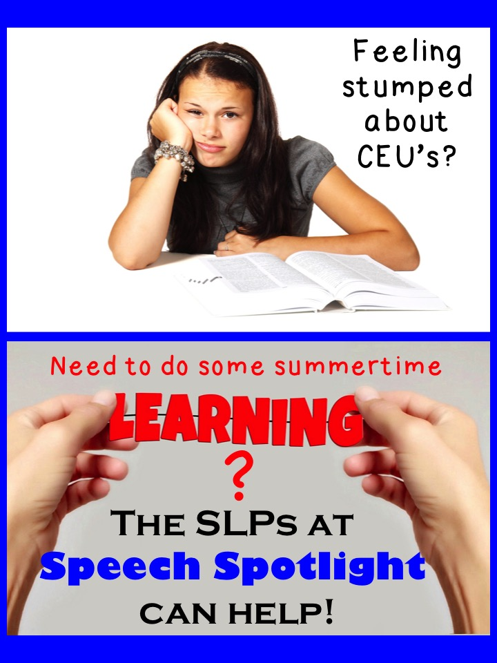 Summertime Learning with Speech Spotlight