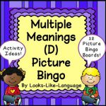 Linda - Multiple Meaning words Themes
