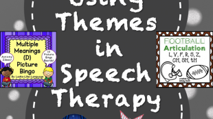 Using Themes in Speech Therapy