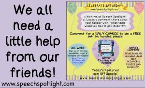 Get a little help from Speech Spotlight!