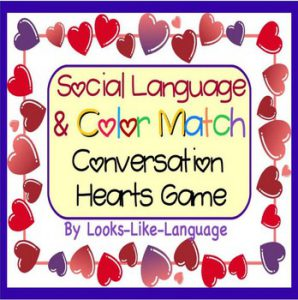 FREE Conversation Hearts Game For Social Language
