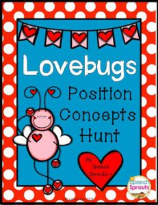 Free Prepositions Game for Valentine's Day