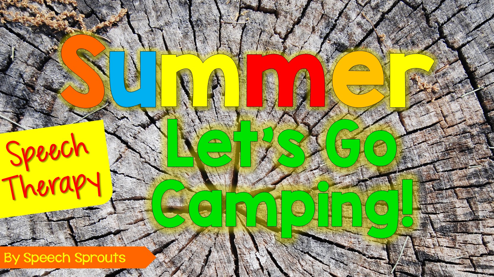 Camping Theme Speech Therapy horiz wordpress featured