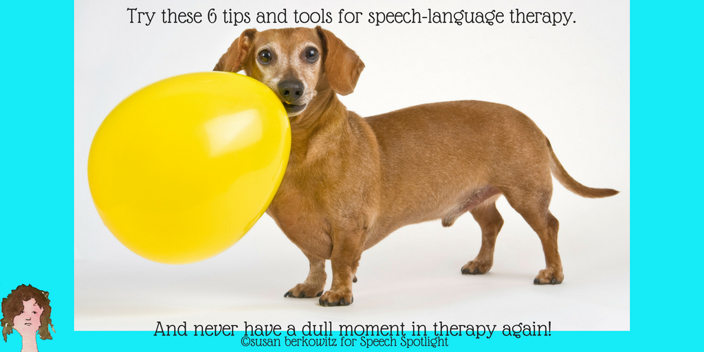 Try these 6 tips and tools for speech-language therapy.